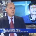 """Peña Esclusa en """"La Noche"""" de RCN de Colombia"""