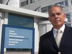 Alejandro Peña Esclusa en la Corte Penal Internacional - La Haya