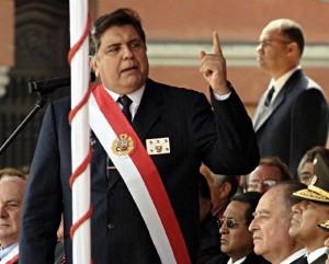 """García se refirió a los """"documentos firmados, que después se niegan por órdenes internacionales y financiamientos externos"""""""