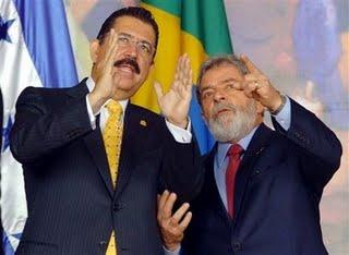 Zelaya y Lula