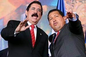 Zelaya y Chávez