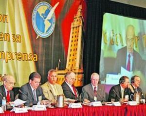 Los directivos de la SIP tomarán el pulso a la situación de la libertad de información en Cuba, Bolivia y Venezuela.