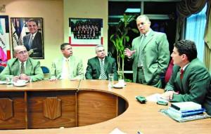 Ponencia El encuentro, en el Palacio Legislativo, se extendió durante una hora y media.Foto EDH / omar carbonero