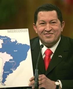 El sueño de Chávez de entrar al Mercosur podría hacerse realidad