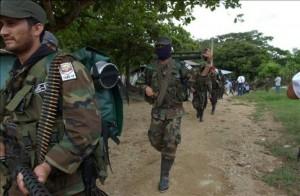 El Gobierno venezolano ha negado la existencia de guerrilleros colombianos en su país y asevera que cuando han violado su territorio, los militares lo han combatido y se han entregado algunos subversivos a Colombia. EFE/Archivo