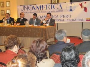 Conferencia Internacional de UnoAmérica en Lima - Perú