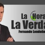 Entrevista a Alejandro Peña Esclusa en el programa radial La Hora De La Verdad conducio por Fernando Londoño Hoyos