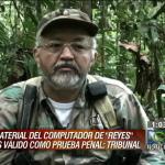 """Computadores de """"Raúl Reyes"""" podrán ser prueba en """"Farc-política"""""""
