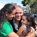 Peña Esclusa en libertad: «Vale la pena sacrificarse por Venezuela»